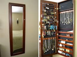 Hidden Jewelry Storage Small Apartment Hacks