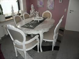 barock esszimmer 6 stühle tisch handgefertigt und