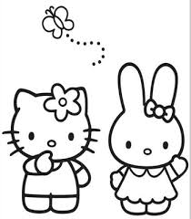 Hello Kitty Templates And Coloring Pages Free Printables