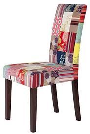 moebel fhs set vollpolsterstuhl bunt 2 st stuhl patchwork