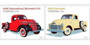 100 1938 International Truck Vintage Stamps Are The Coolest Way To Send Mail