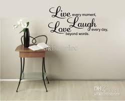 Live Laugh Love Framed Wall Art Decor Best