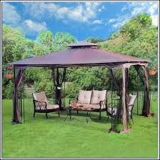 Square Patio Umbrella With Netting by Patio Umbrella Netting Canada Home Outdoor Decoration