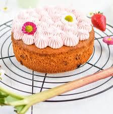 rezept für einen erdbeer rhabarber kuchen zuckerdeern