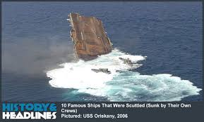 Uss America Sinking Location by 10 Famous Ships That Were Scuttled Sunk By Their Own Crews