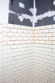 how to easily tile a shower yourself diy bathroom renovation
