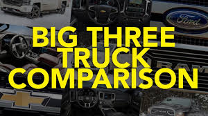 2018 Ford F-150 Vs Ram 1500 Vs Chevrolet Silverado: Big Three Truck ... 2016 Ford F150 Vs Ram 1500 Ecodiesel Chevy Silverado Autoguidecom 2012 Halfton Truck Shootout Nissan Titan 4x4 Pro4x Comparison 2015 Chevrolet 2500hd Questions Is A 2500 3 Pickup Truck Shdown We Compare The V6 12tons 12ton 5 Trucks Days 1 Winner Medium Duty What Does Threequarterton Oneton Mean When Talking 2018 Big Three Gms Market Share Soars In July Need To Tow Classic The Bring Halfton Diesels Detroit