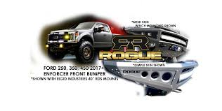 100 Truck Front Bumpers ENFORCER FRONT 2017 FORD SUPER DUTY Rogue Racing