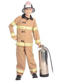 Kids Firefighter Costume - Boys Fireman Turnout Gear