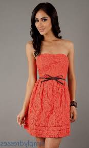 strapless lace dress casual naf dresses
