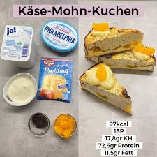 käse mohn kuchen springform high protein low carb recipes