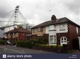 100 Houses In Preston Terraced Houses In A Street Behind The Stadium Pictured