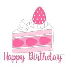 happy birthday cake slices illustration animation greeting card 15 784 views Report Gfycat URL