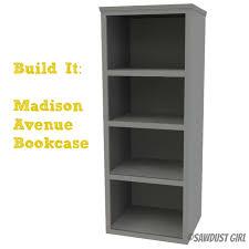 how to build a tall bookshelf sawdust