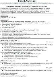 Draft Resume Example Sample For Lawyer Appealing Additional Information And Professional Experience Attorney