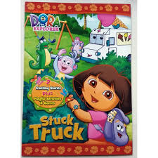 Dora The Explorer Activity And Story Book - Stuck Truck, Books ...