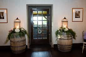 Ancaster Mill Rustic Wedding Decor Wine Barrels