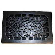 rectangular cast iron floor register heat grate antique replica