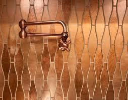 Copper Tiles For Backsplash by Copper Tiles
