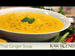 Vitamix Thai Pumpkin Soup by How To Make A Thai Ginger Soup In A Vitamix Blender By Tommy From