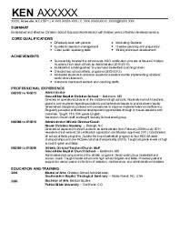 School Administrator Resume