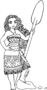 Coloriage Vaiana A Imprimer Jeux De Coloriage De Princesse Unique