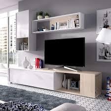 hellweiße und natürliche tv lounge der obi serie
