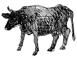 Coloriage Vache Sur Hugolescargotcom