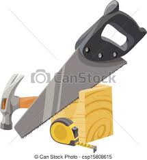 Vector Of Carpentry Tools