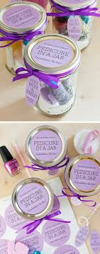 A Pedicure In Jar Makes The Perfect Gift For Any Girl That Likes To Pamper Herself Make One DIY Spa Night With Friends Or Give Your Favorite