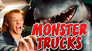 👾 How To Draw MONSTER From Movie Monster Trucks 2017 - YouTube