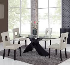 5 Piece Oval Dining Room Sets by Glass Dining Room Sets 28 Images Pastel Taranto 5 Black Glass