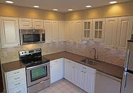 White Kitchen Cabinets With Stainless Appliances AppliancesKitchen Design