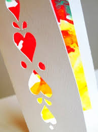 Artful Adventures Valentine Cards Cut Paper Valentines Find Out How To Make