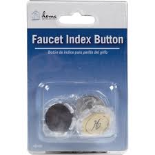 Faucet Handle Puller Youtube by Home Impressions Acrylic Faucet Index Handle Button A663008cp