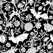 Black And White Flower Shower Curtain by Elysian Fields Shower Curtain Sin In Linen
