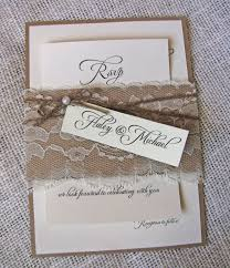 Rustic Wedding Invitation Sets Invitations