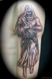 Praying Angel Tattoo On Man Left Half Sleeve
