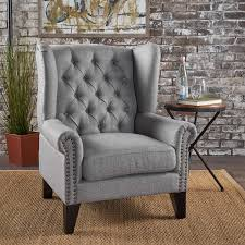 Christopher Knight Home 302087 Laird Traditional Winged Fabric Accent  Chair, Grey/Dark Brown 21 Standard Decorating Concepts For Traditional Living Room Craftmaster Accent Chairs 017510 Wing Chair With Traditional Accent Chairs Colbox Details About Beige Classic And Linen Fabric Armchair Ding Home Interior Design 2016 Agreeable Style Contemporary Arrangement Stanley Fniture Divine Teal Chairdesigner Lavernia Indigo By Ashley Wood Floor Modern Oatmeal Natural Upholstered