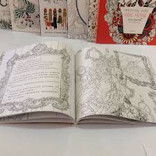 Beauty And The Beast Coloring Books For Adults Relieve Stress Graffiti Painting Drawing Secret Garden Art In From Office School