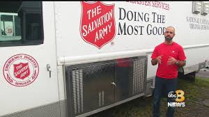 100 Salvation Army Truck Virginia Deploys To The Carolinas For Florence Relief