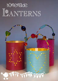 TIN CAN LANTERNS Are Perfect For Summer Evenings In The Garden Or Winter Snug Inside Theyre An Easy Recycled Craft Kids And They Make