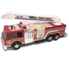 100 Tonka Fire Rescue Truck 1993 27 TONKA FIRE DEPT ENGINE No 5 TRUCK 75 FtRESCUE BOOM LADDER