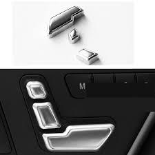 meilleur si e auto meilleur vente 3 pièces de voiture réglage du siège bouton décoratif