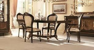esstisch 8 stühle esszimmer tisch rokoko barock jugendstil