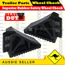 Superior Heavy Duty Black Rubber Safety Wheel Chock-Trailer Truck ... Goodyear Wheel Chocks Twosided Rubber Discount Ramps Adjustable Motorcycle Chock 17 21 Tires Bike Stand Resin Car And Truck By Blackgray Secure Motorcycle Superior Heavy Duty Black Safety Chocktrailer Checkers Aviation With 18 In Rope For Small Camco Manufacturing Truck Bed Wheel Chock Mount Pair Buy Online Today Titan Wheels Gallery Pinterest Laminated 8 X 712
