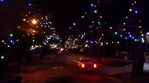 Christmas Tree Lane Fresno Ca by Christmas Tree Lane Altadena California Youtube
