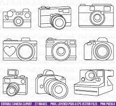 Nikon Clipart Outline 3