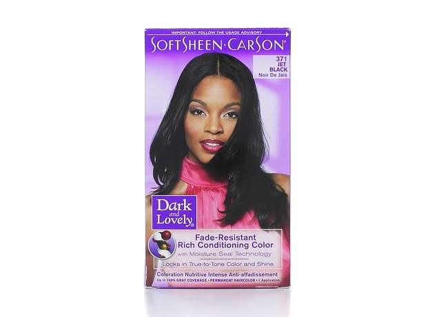 SoftSheen-Carson Dark & Lovely Permanent Hair Color - 371 Jet Black
