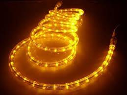 Amazon 50Ft Rope Lights Brilliant Amber LED Rope Light Kit
